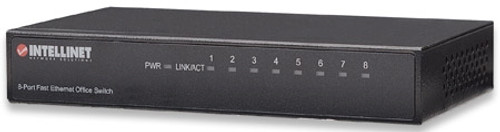 8-Port; Desktop; Metal