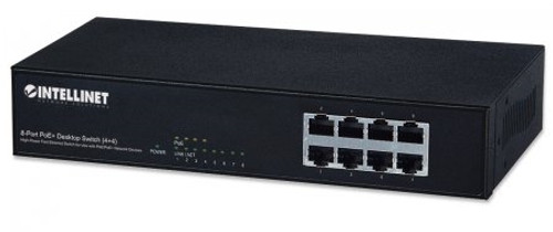 8-Port Fast Ethernet PoE+ Switch (560757)