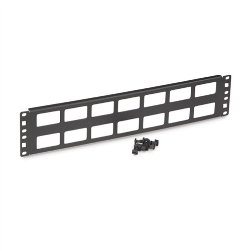 2U Cable Routing Blank (1902-1-002-02)
