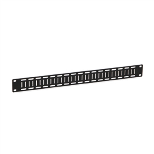 1U Flat Cable Lacing Panel (1903-1-001-01)