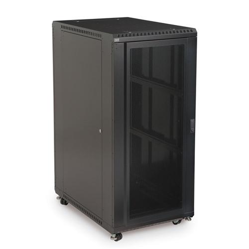 """27U LINIER Server Cabinet - Convex/Convex Doors - 36"""" Depth (3105-3-001-27)"""