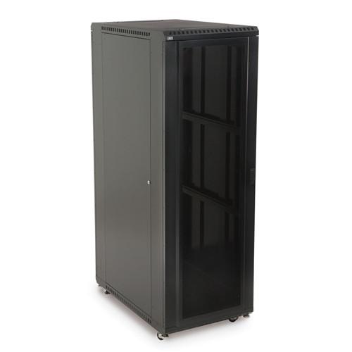 """37U LINIER Server Cabinet - Convex/Convex Doors - 36"""" Depth (3105-3-001-37)"""