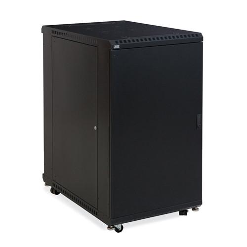 """22U LINIER Server Cabinet - Solid/Solid Doors - 36"""" Depth (3108-3-001-22)"""