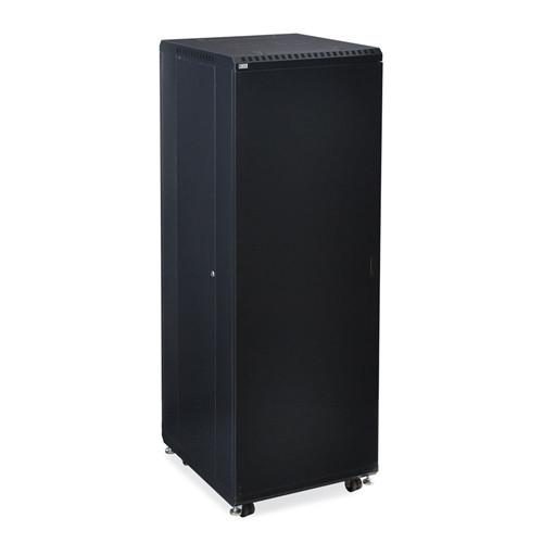 """37U LINIER Server Cabinet - Solid/Solid Doors - 24"""" Depth (3108-3-024-37)"""