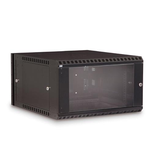 6U LINIER Swing-Out Wall Mount Cabinet - Glass Door (3130-3-001-06)