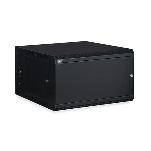 6U LINIER Swing-Out Wall Mount Cabinet - Solid Door (3131-3-001-06)