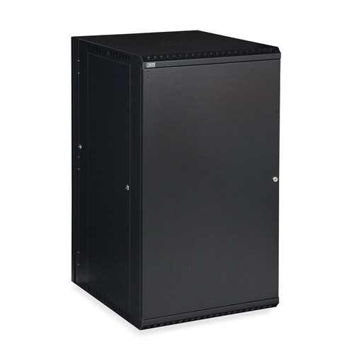 22U LINIER Swing-Out Wall Mount Cabinet - Solid Door (3131-3-001-22)
