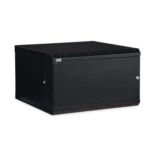 6U LINIER Fixed Wall Mount Cabinet - Solid Door (3141-3-001-06)