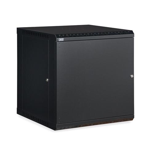 12U LINIER Fixed Wall Mount Cabinet - Solid Door (3141-3-001-12)