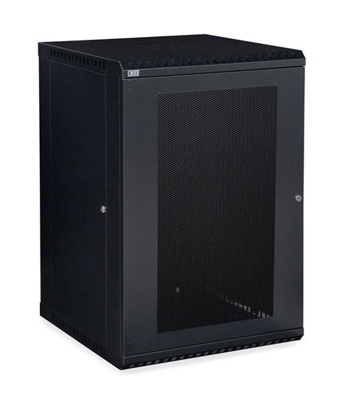 18U LINIER Fixed Wall Mount Cabinet - Vented Door (3142-3-001-18)