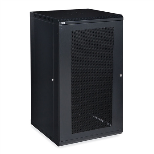 22U LINIER Fixed Wall Mount Cabinet - Vented Door (3142-3-001-22)