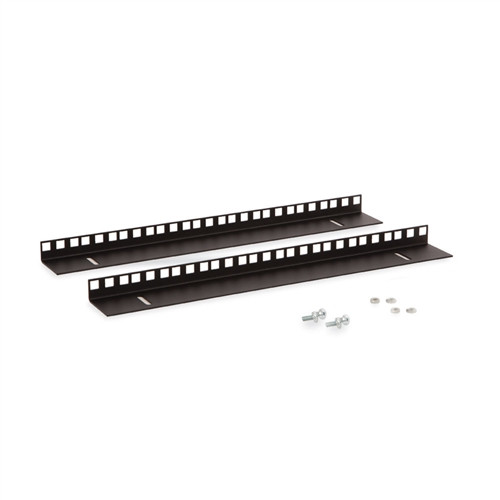 9U LINIER Wall Mount Vertical Rail Kit - Cage Nut (3150-3-001-09)