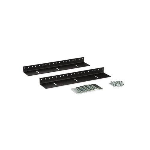 6U LINIER Wall Mount Vertical Rail Kit - 10-32 Tapped (3150-3-002-06)