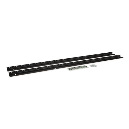 27U LINIER Server Cabinet Vertical Rail Kit - 10-32 Tapped (3160-3-002-27)