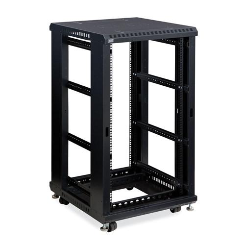 """22U LINIER Open Frame Server Rack - No Doors/Side Panels - 24"""" Depth (3170-3-024-22)"""