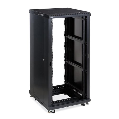 """27U LINIER Open Frame Server Rack - No Doors - 24"""" Depth (3180-3-024-27)"""