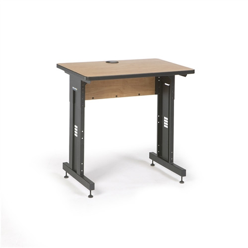 "36"" W x 24"" D Training Table  - Caramel Apple (5500-3-002-23)"
