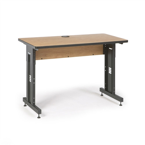"48"" W x 24"" D Training Table - Caramel Apple (5500-3-002-24)"