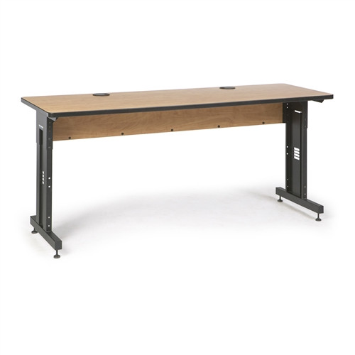 "72"" W x 24"" D Training Table - Caramel Apple (5500-3-002-26)"