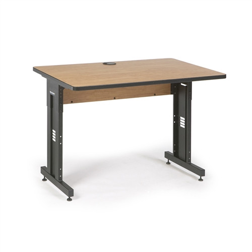 "48"" W x 30"" D Training Table - Caramel Apple (5500-3-002-34)"