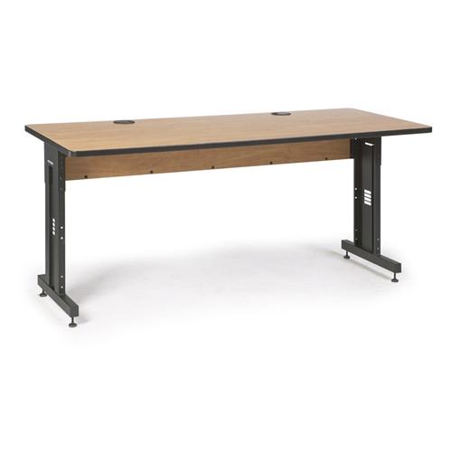 "72"" W x 30"" D Training Table - Caramel Apple (5500-3-002-36)"