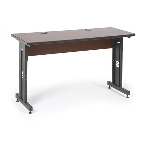 "60"" W x 24"" D Training Table - Serene Cherry (5500-3-003-25)"