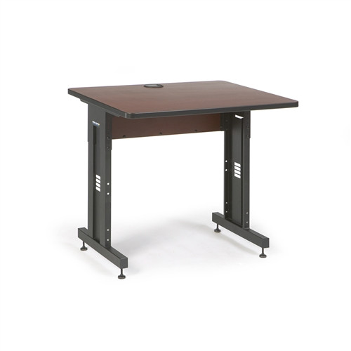 "36"" W x 30"" D Training Table  - Serene Cherry (5500-3-003-33)"