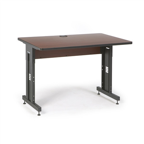 "48"" W x 30"" D Training Table - Serene Cherry (5500-3-003-34)"