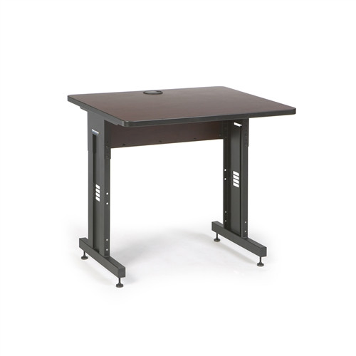 "36"" W x 30"" D Training Table  - African Mahogany (5500-3-004-33)"