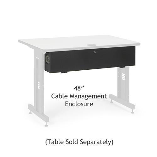 "48"" Training Table Cable Management Enclosure (5500-3-100-48)"