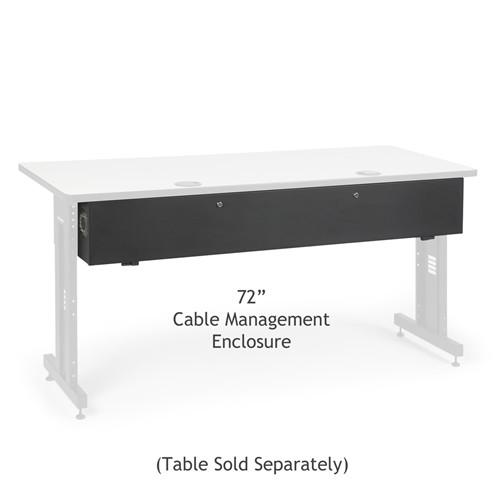 "72"" Training Table Cable Management Enclosure (5500-3-100-72)"