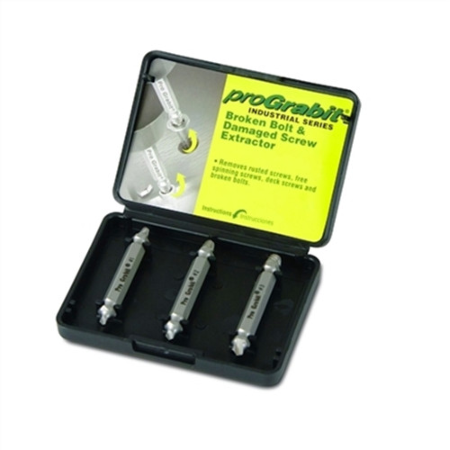 3-Pc. Pro-Grabit Screw Removal Kit