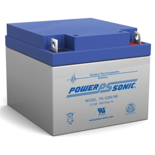 PS-12260 12 Volt 26 AH Battery(powersonPS-12260)