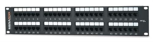 48-Port Category 5e Patch (48458MD-C5E)
