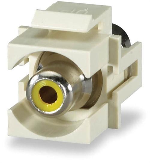 RCA Yellow Feed-Thru Module (CMK-RCAY)