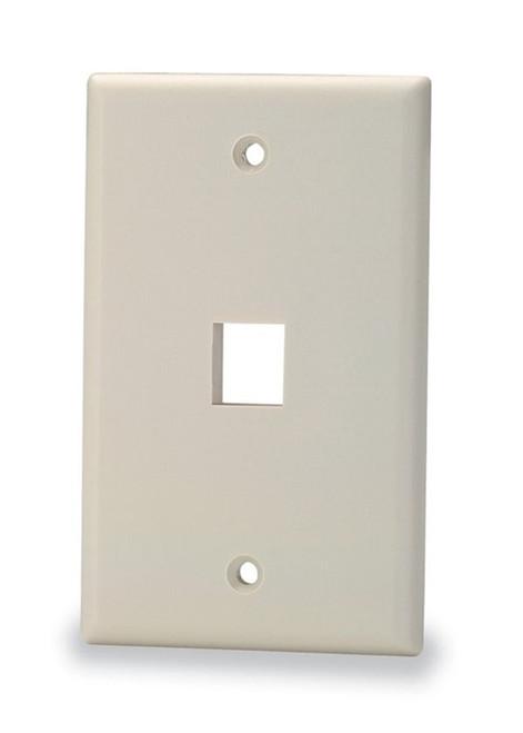 1-Port Single Gang Faceplate (SKF-1)