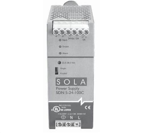 480W 24V DIN P/S 115/230V IN (SDN2024100C)