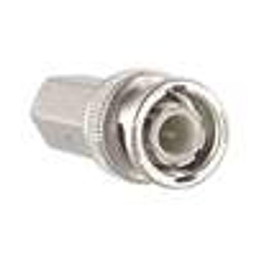 BNC(M); 1PC Twist-On; RG58 PVC; 50 Ohm Cable (CBN-1112)