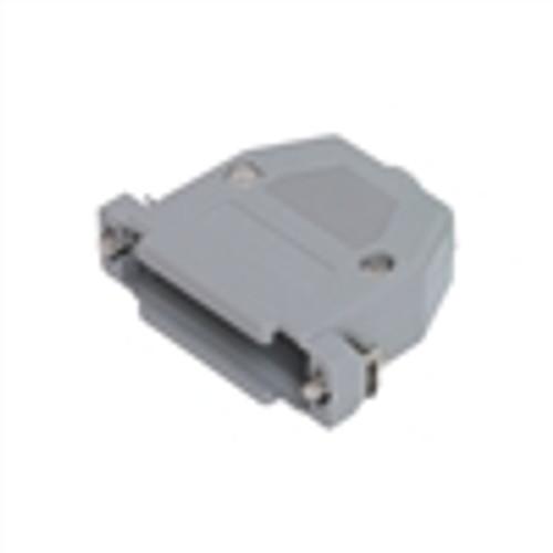 D-Sub Hood; DB15; Plastic; Gray (DSH-5115)