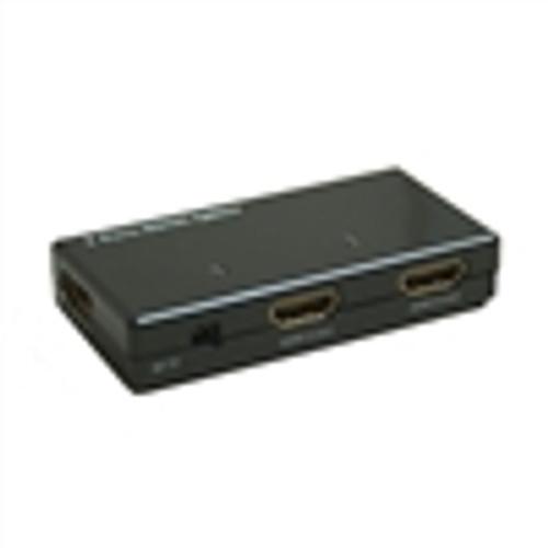 """""""HDMI 1X4 MINI-SPLITTER W/AMPLIFIER, 1080P"""" (HDI-4114)"""