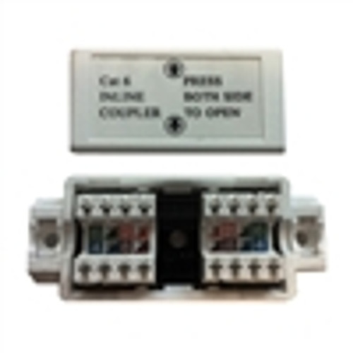 """ADAPTER, CAT6 INLINE UTP 110IDC CONJUNCTION BOX, WHITE"" (NCB-6008)"