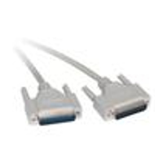Computer Null Modem Cable; DB25(M) to DB9(F); 10FT (NCC-5410)