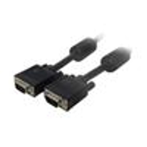 SVGA Monitor Cable with Ferrite; HD15 Male to Male; 6 Feet (NCC-9206)