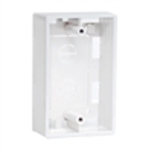 Surface Mount Wall Plate Box - White (NFP-3000)