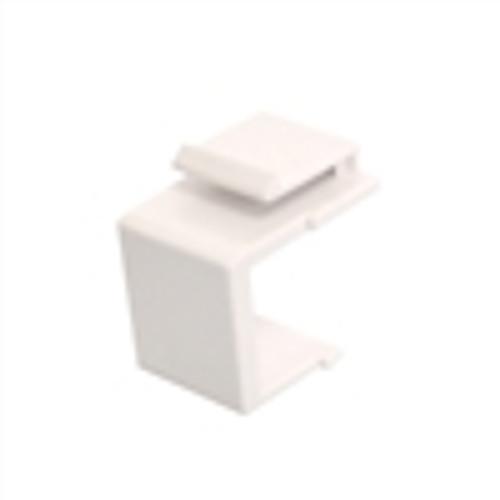 Keystone; Blank Wallplate Insert - Ivory (NIN-1107)