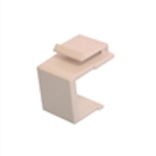 Keystone; Blank Wallplate Insert - White (NIN-1108)