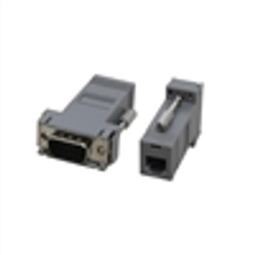 Modular Adapter; DB9(M) to RJ12; 6P6C; GRAY (NMA-6109)