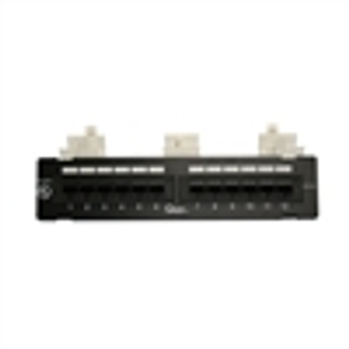 12 PORT CAT-5E MINI PATCH PANEL T568A/B (NPP-5012)