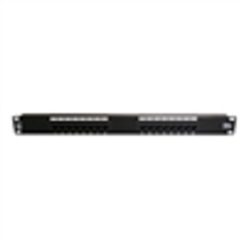 "16 PORT CAT-5E 19""  PATCH PANEL T568A/B (NPP-5016)"