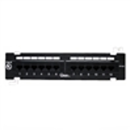 12 PORT CAT-6 PATCH PANEL (NPP-6012)